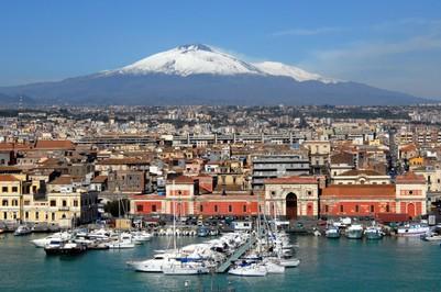 Foto Catania vista Etna